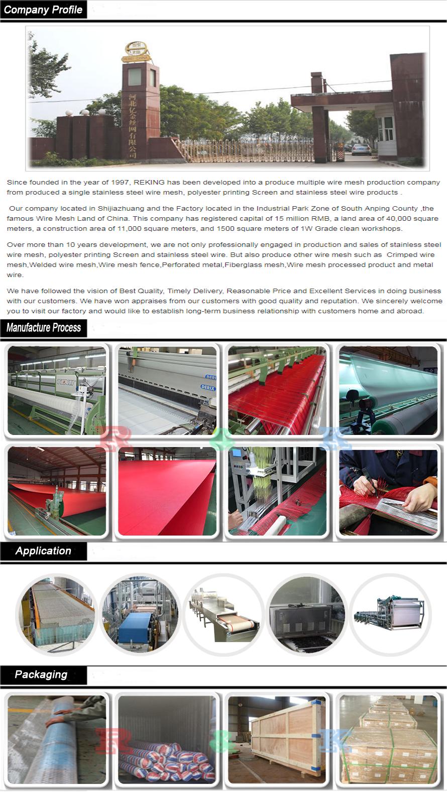 Polyester Vacuum Filter Belt